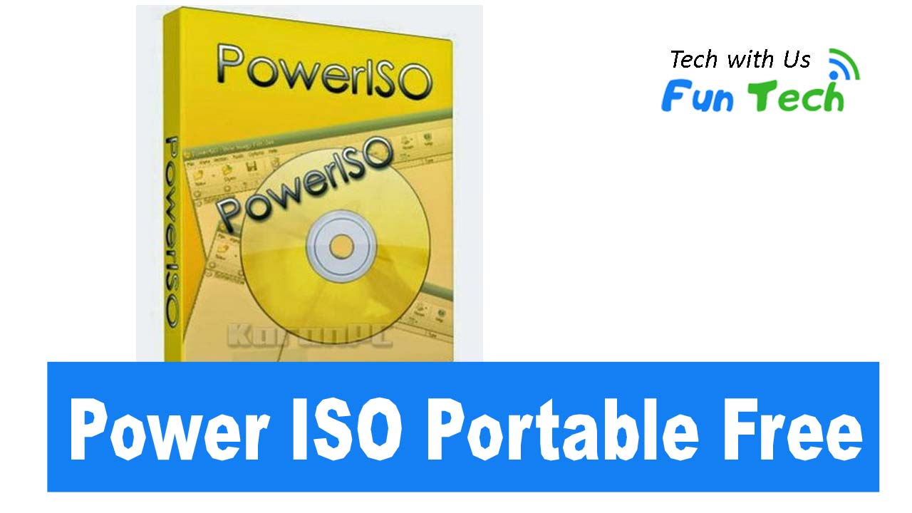 PowerISO Portable Free download for PC 32/64bit