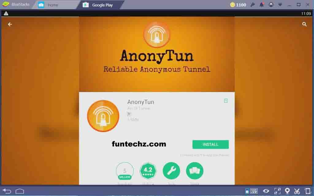 AnonyTun on PC