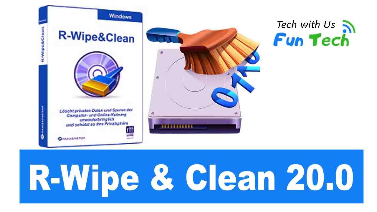 R-Wipe & Clean 20.0 Build 2252 Crack With Serial Key Download