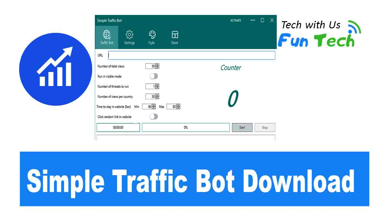 Simple Traffic Bot download Free 2019 | Latest