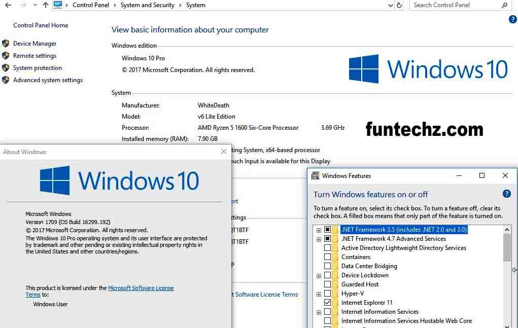 Windows 10 Lite Edition v10 2019 Free Download