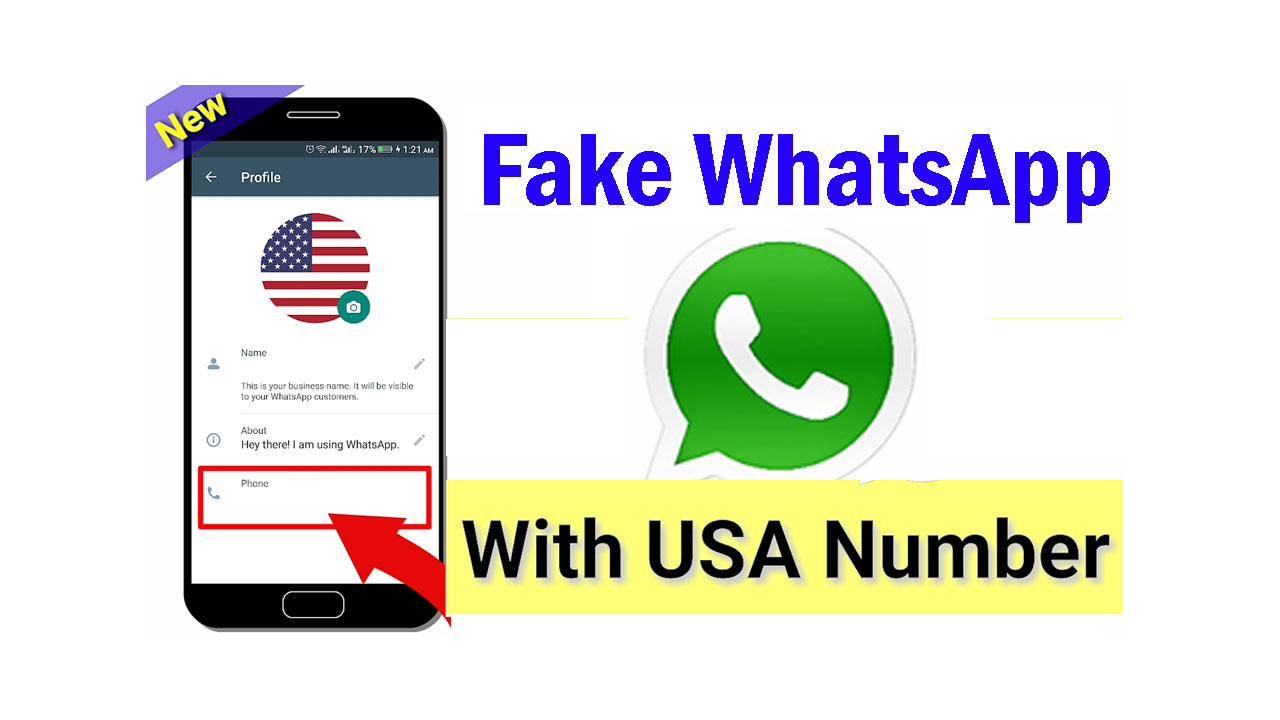 Create Fake WhatsApp Account