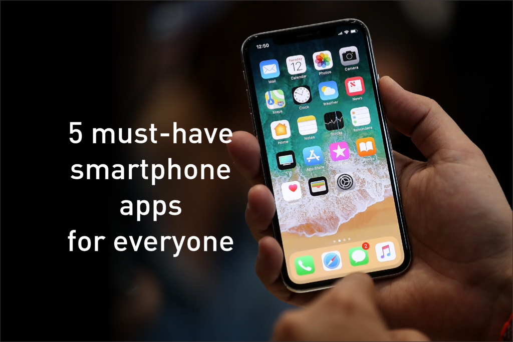 Important Smartphone Apps