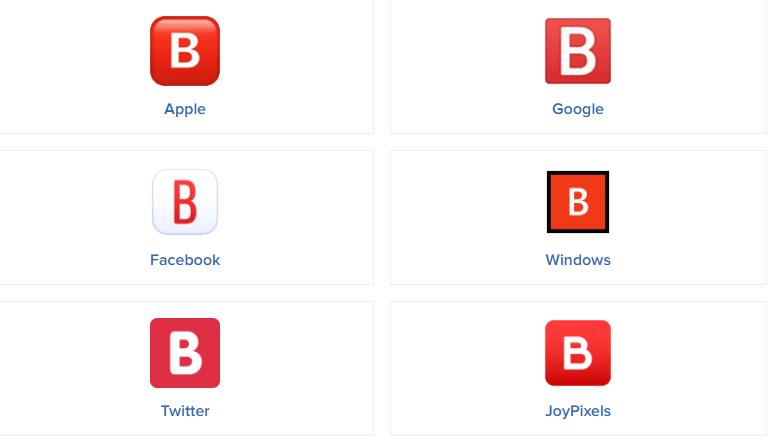 B Button