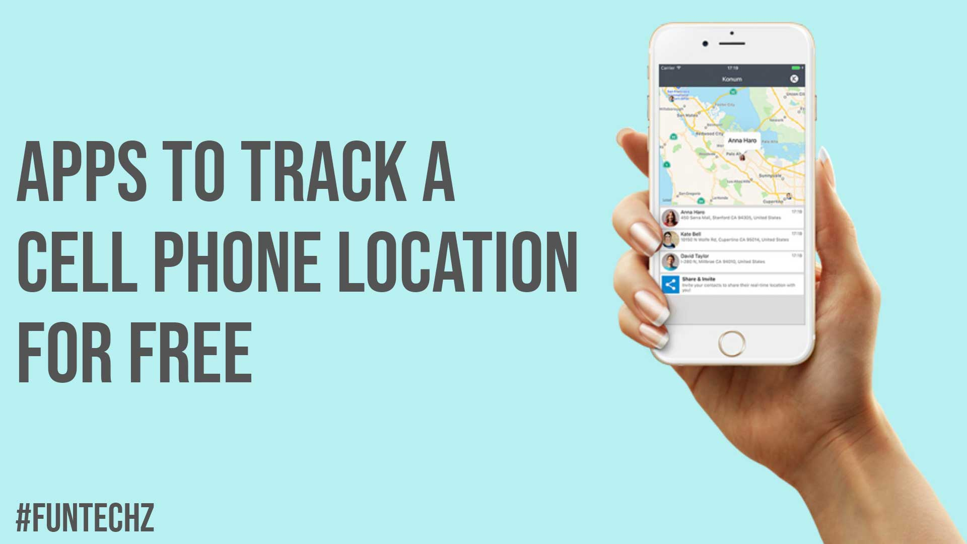 Apps To Track A Cell Phone Location For Free
