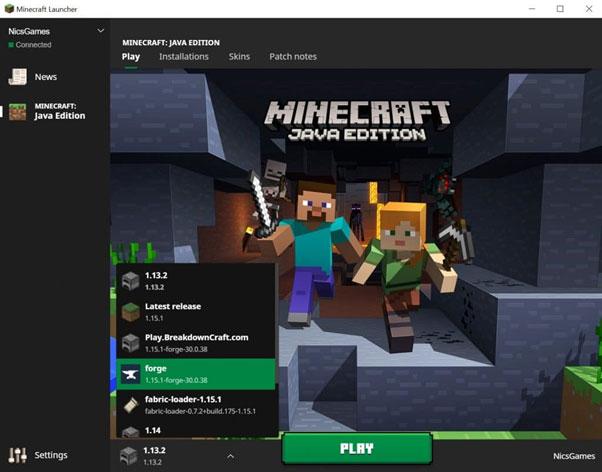 Opening Minecraft W/ Optifine