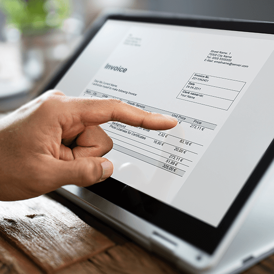 online invoicing for business