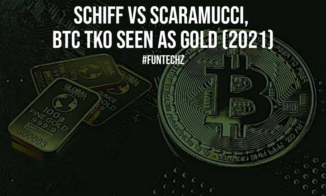 Schiff vs Scaramucci BTC TKO Seen as Gold